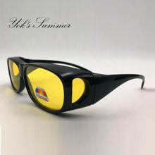 b34448e89df51f Yok s Gepolariseerde Nachtzicht Zonnebril HD Vision Zonnebril Eyewear UV  400 Bescherming Rijden Bril Voor Unisex HN1175
