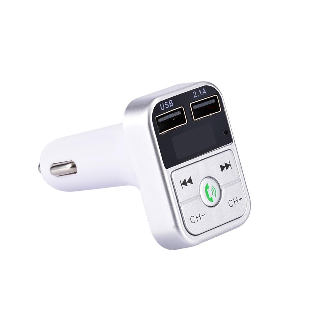 Image 4 - Bluetooth MP3 Player Hands Free FM Transmitter Wide Compatibility U Disk Car Charger Smart Fast Charging Automatic Connection-in Chargers from Consumer Electronics