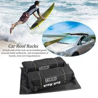 Universal Auto Soft Car Roof Rack Foldable Soft Easy Fit Removable Roof Racks Ideal For Carrying Luggage Ladders Surfboards Rack
