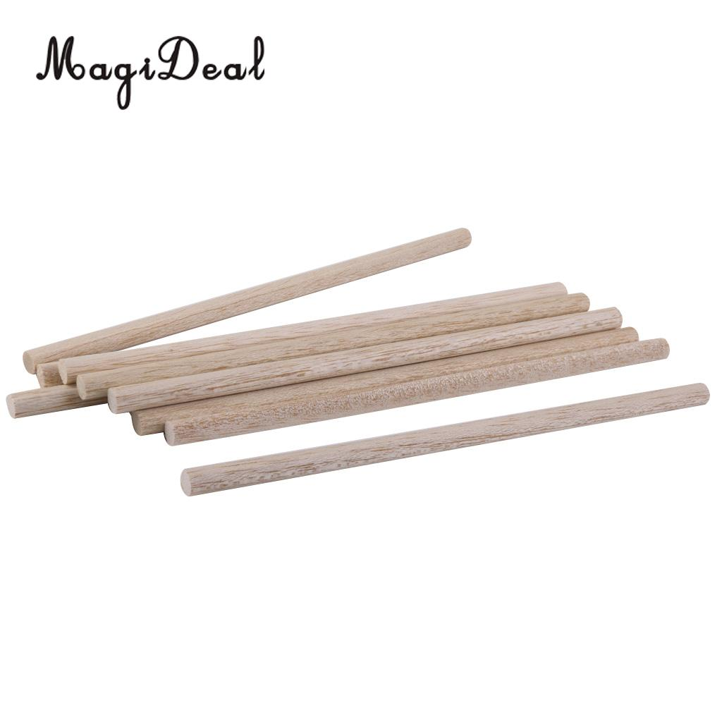 for airplane//boat model DIY hobby craft 10Pcs pine wood 150x40x6mm LxWxH