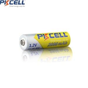 Image 5 - 4 PKCELL Pin AA 1.2V 2300Mah 2600MAH AA NI MH Pin Sạc Aa Batteria Và 1 Chiếc Pin Cầm Ốp Lưng