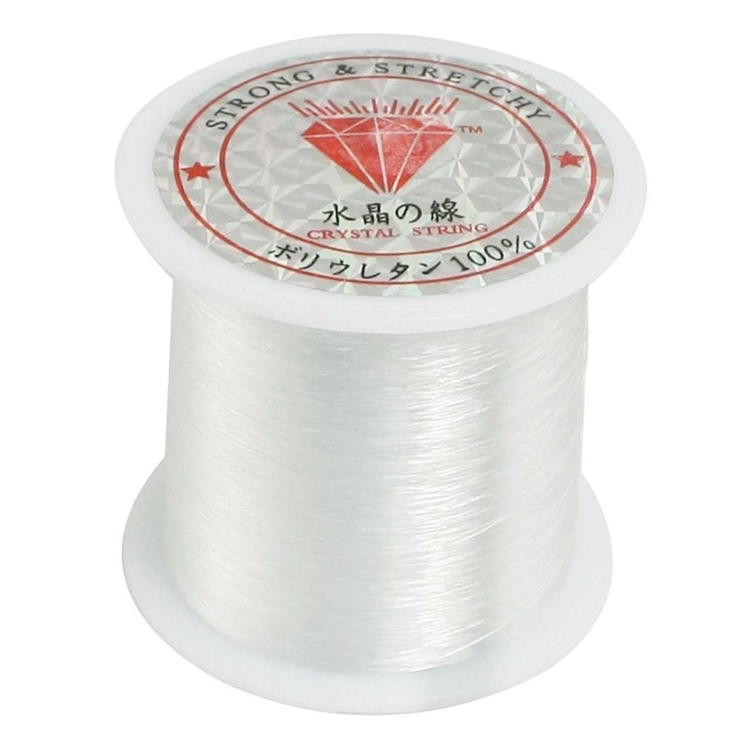 120 M 0.2mm/Roll  Fishing Line Crystal fishing line Transparent sewing thread crystal fish thread nylon line beaded wire hotsale