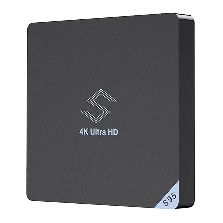 Offres spéciales Beelink S95 Tv Box Android 8.1 Amlogic S905X2 2.4 Ghz/5.8 Ghz Wifi Bt4.0 Support lecteur multimédia 4K H.265 Set Tv Box
