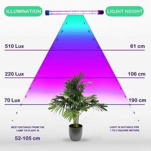 Image 5 - LED 5V 27W USB grandir ampoule avec spectre bleu rouge réglable 3 tête minuterie plante pousser lampe pour les plantes dintérieur
