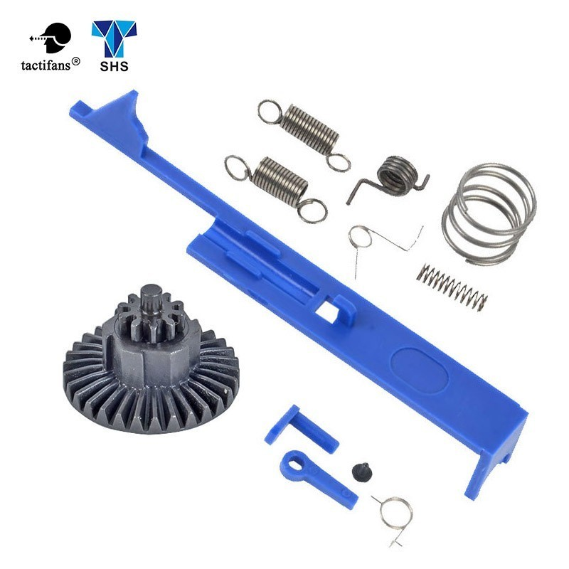 SHS Tappet Plate Version.2/3/7 Gearbox Spring Set Version.2.3/ Safety Lever Switch Bevel Gear AEG Paintball Hunting Accessories