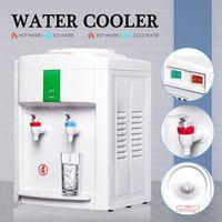 220V 500W Electric Hot Cold Water Cooler Dispenser Quality Desktop Water Dispenser 3 5 Gallon Home Office Use