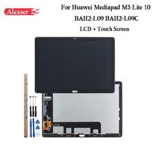 Alesser Für Huawei Mediapad M5 Lite 10 BAH2 L09 BAH2 L09C LCD Display + Touch Screen + Werkzeuge + Adhesive Für Huawei mediapad M5 Lite