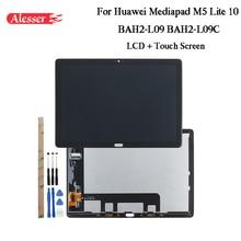 Alesser עבור Huawei Mediapad M5 לייט 10 BAH2 L09 BAH2 L09C LCD תצוגה + מסך מגע + כלים + דבק עבור Huawei mediapad M5 לייט