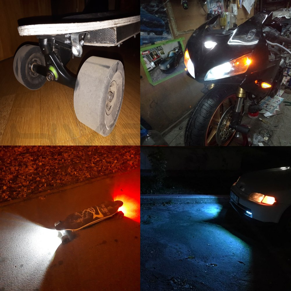 ALI shop ...  ... 32819370863 ... 2 ... Waterproof 18mm/23mm Black/Sliver Shell 12V Led Light Daytime Running Drl Eagle Eye Source Backup Reversing Parking Signal Lamp ...