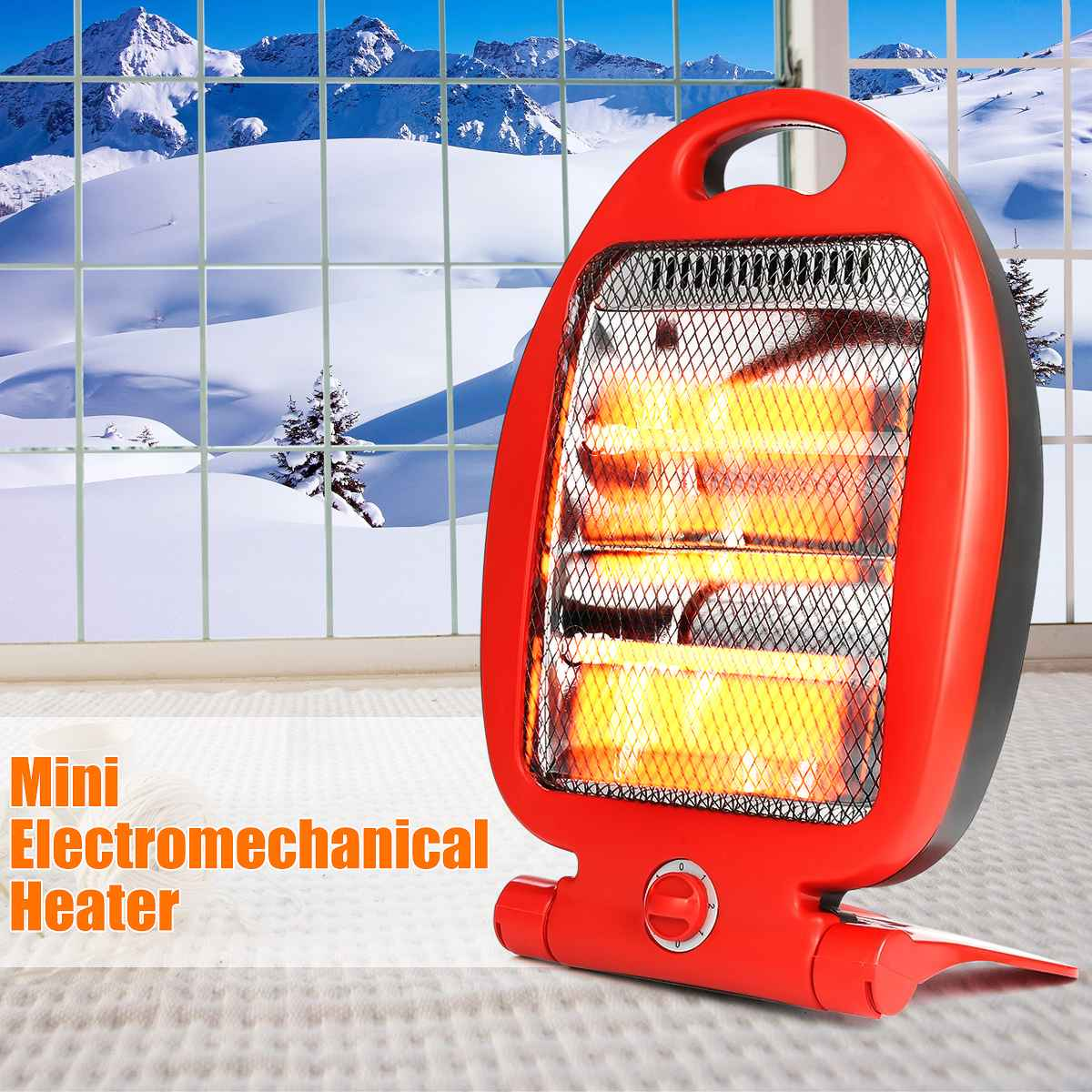 800W Adjustable Portable Electric…