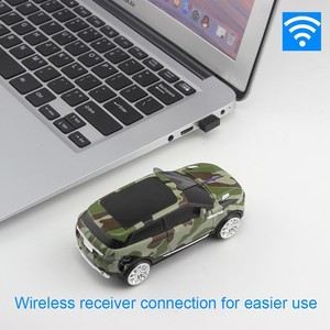 Image 2 - 2.4Ghz Wireless Mouse New Camo Cool Car Shape Mice USB Receiver Computer Gaming 3D Optical Mause For PC Laptop Macbook Pro