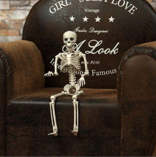 Full Size Skeleton Halloween Decoration
