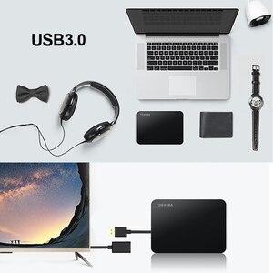 Image 4 - TOSHIBA disque dur externe HDD 3.0 pouces, Canvio Basics 2.5, dispositif de stockage Portable, USB 3.0 SATA3, avec capacité de 1 to, 2 to