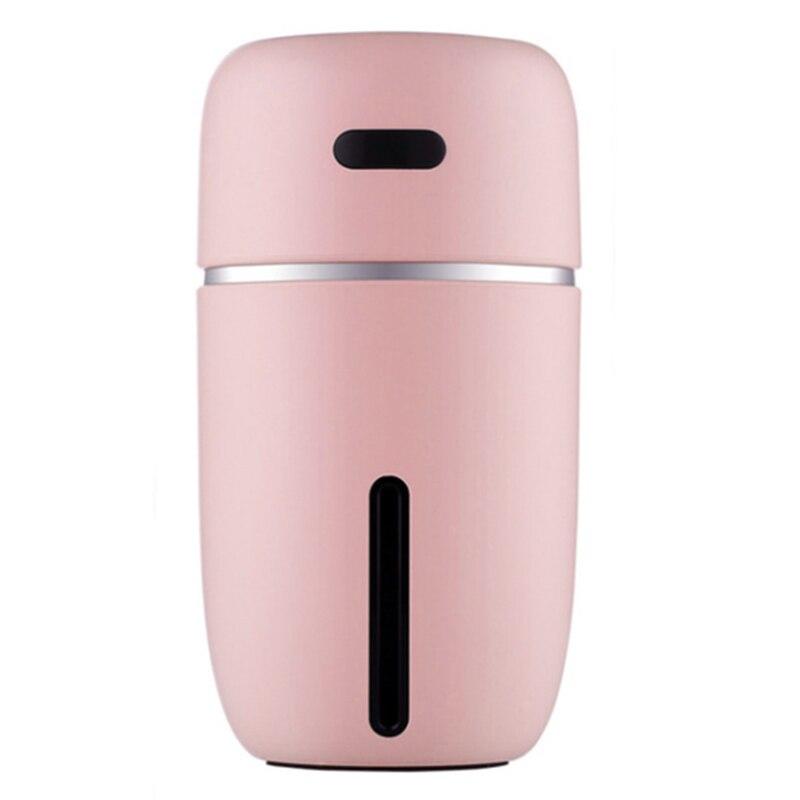New Hot Mini Usb Air Humidifier Essential Oil Diffuser Led Ultrasonic Mist Maker Fogger Humidifier Car Usb Aroma Diffuser Pink
