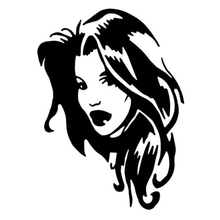 Sexy Girl Vinyl Decal Sticker Truck Window Car Accessories Motorcycle Helmet Styling Rear