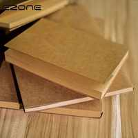 EZONE Graffit Notebook Planner Brown/Beige Paper Blank Page Sketch Note Book Scrapbook Travel Diary Notepad School Office Supply