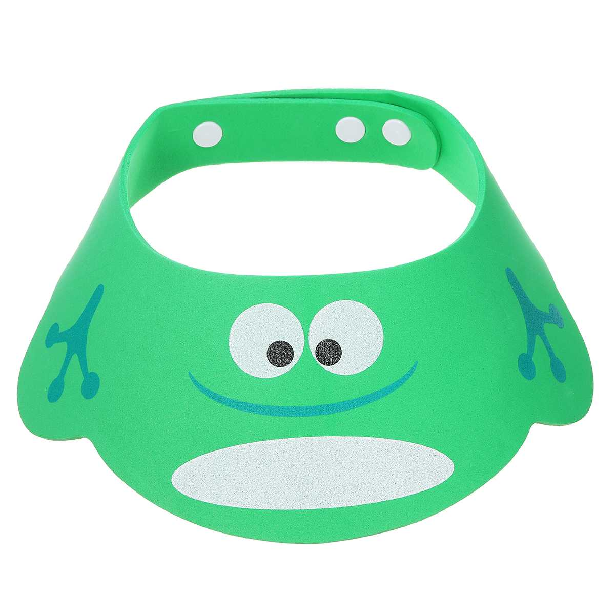 1pc Adjustable Frogs Baby Shower Hat Toddler Kid Shampoo Bathing Cap Wash Hair Shield Protect Ears Eyes Visor Caps for Baby Care