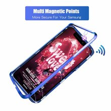 Updated version mobile cell phone 360 shockproof cover magnetic Adsorption for huawei p20 pro