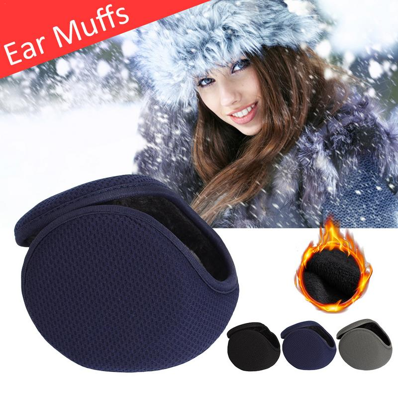 Quality Winter Unisex Men And Women Fleece Warmer Earmuff Warm Plush Cloth Ear Muffs Cover Earwarmers Ear Muffs Earlap Warmer