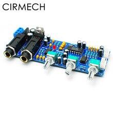 CIRMECH PT2399 NE5532 scheda Karaoke Microfono amplificatore Scheda Preamplificatore Riverbero del suono di Eco