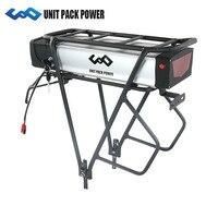 Powerful Rear Rack Electric Bike Battery 48V 30Ah Lithium ion Sanyo cell Battery 48V 31AH for 1500W E Bike Motor
