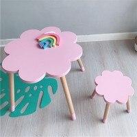 Скандинавский стиль детский стул детский Рабочий стол детский стол и стул детская мебель обеденный стол детский Декор оптовая продажа