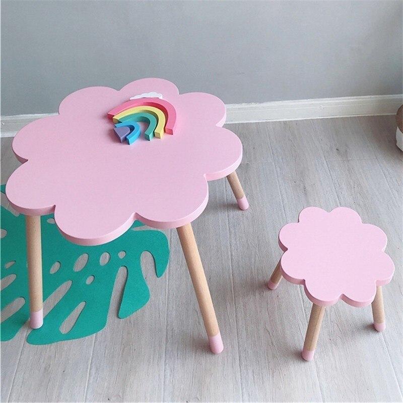Скандинавский стиль детский стул детский стол для занятий детский стол и стул детская мебель обеденный стол детский Декор оптовая продажа