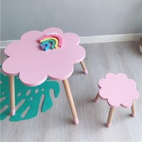 Nordic Style Baby Chair Kids Study Table Kids Table And Chair Kids Furniture Dining Table Nursery Decor Wholesale