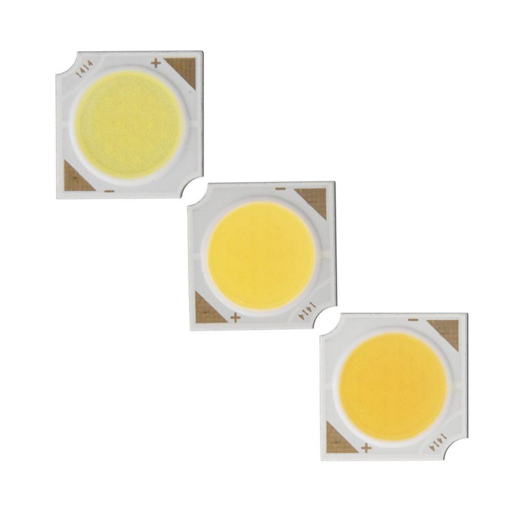 Купить с кэшбэком 12W manufacturer 14mm 11mm Square LED COB DIY Light Source Epistar 110lm/w High CRI chip COB LED for spotlight bulb lamp