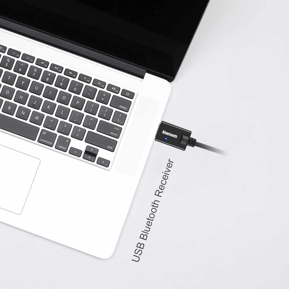Mini 3,5 MM Jack AUX Bluetooth receptor coche Kit Audio MP3 música adaptador USB Dongle para teclado inalámbrico altavoz de radio FM