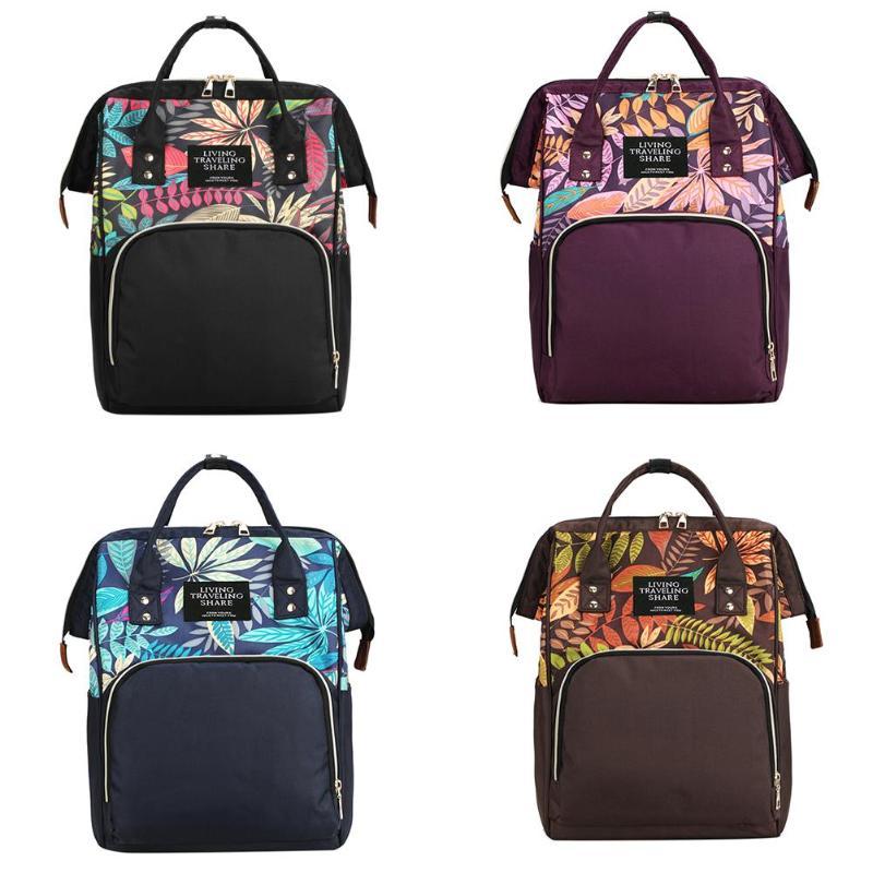Waterproof Mommy Nappy Bags Maternity Handbag Large Capacity Mummy Backpacks Mother Nylon Shoulder Bags Travel Baby Nursing Bag