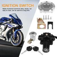 Fuel Gas Cap Ignition Switch Seat Lock W/ Key Set for Yamaha YZF R1 R6 FZ6 2001 2012 New
