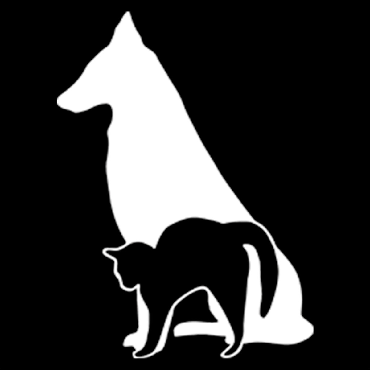 Squat dog cute cat stretch car window decal sticker creative stickers in car stickers from automobiles motorcycles on aliexpress com alibaba group