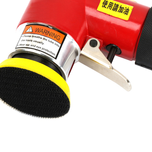 Image 5 - HHO 2inch 3inch Mini Air Sander Kit Pad Eccentric Orbital Dual Action Pneumatic Polisher Polishing Buffing Tools For Auto Body