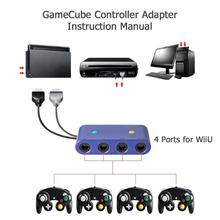 ALLOYSEED 4 Port for GC Game Cube to for Wii U PC USB Ninten