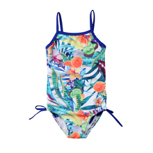One Piece Swimsuit 2019 Summer Kids Baby Girls Floral Printing Swimwear Swimsuit Bikini Bathing Suits Beachwear One-piece Bikini цена