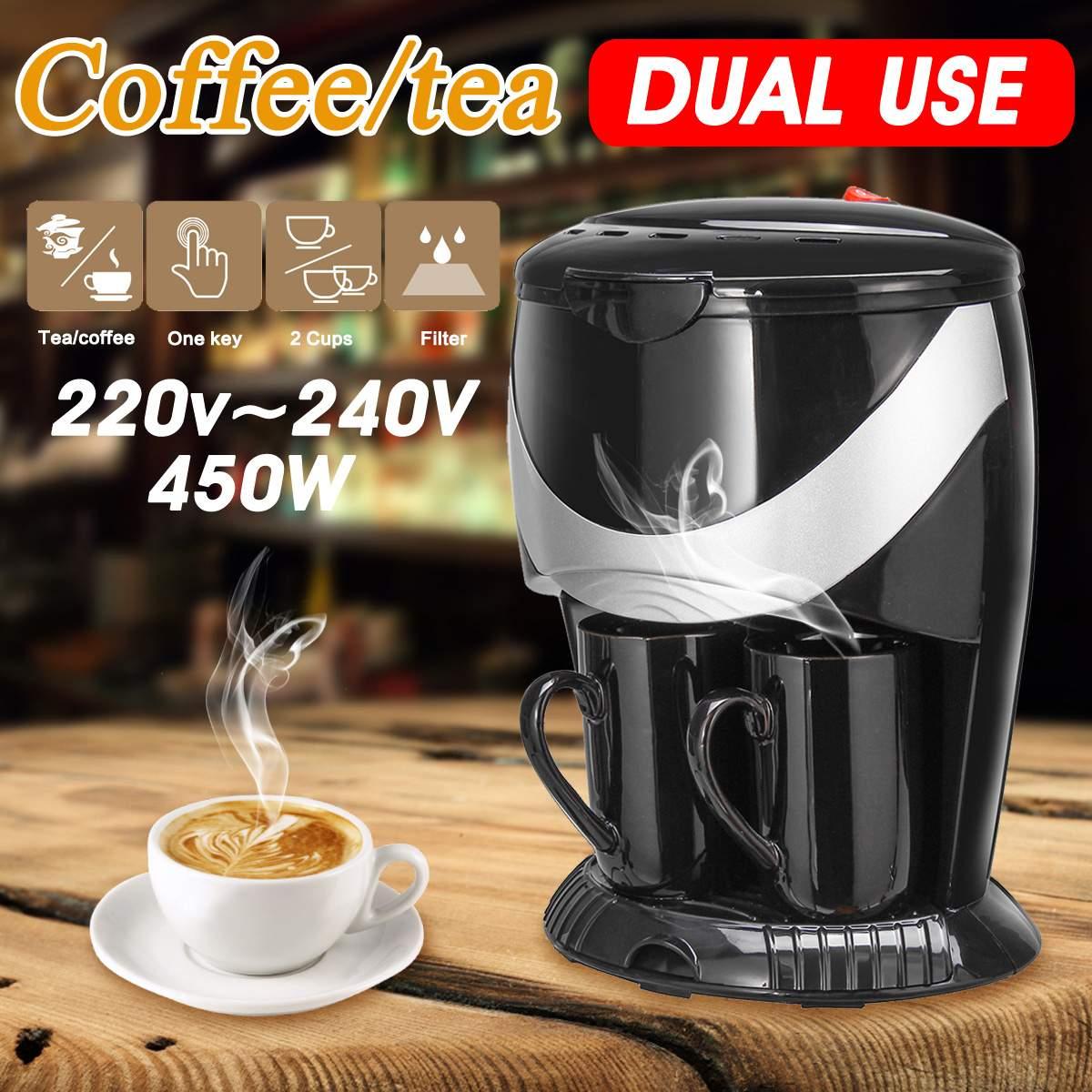 Warmtoo Amerikan Kahve Makinesi Makinesi Otomatik Damla Tipi Elektrikli Mini Kahve Makinesi ile 2 adet Bardak + FiltreWarmtoo Amerikan Kahve Makinesi Makinesi Otomatik Damla Tipi Elektrikli Mini Kahve Makinesi ile 2 adet Bardak + Filtre