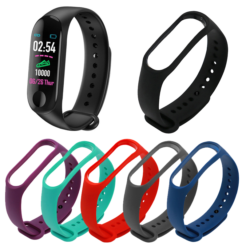 2019 New Watch Band For M3 Bracelet Wrist Strap Replacement Smart Watch Accessories Silicone Wrist Strap For M3 Bracelet