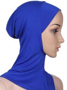 Image 4 - Women Ninja Head Cover Bonnet Hat Underscarf Muslim Turban Lady Cap Scarf Hat Skullies Beanies Beanies Full Cover Bonnet Fashion