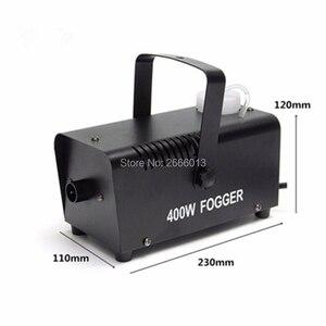 Image 4 - Machine à fumée 400W/Mini Machine de désinfection datomisation à télécommande sans fil/éjecteur de fumée détape/brumisateur détape de Disco de DJ