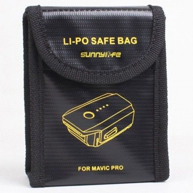 Fire Protection Lipo Battery Safe Bag Pouch Case Cover for DJI Mavic Pro Drone