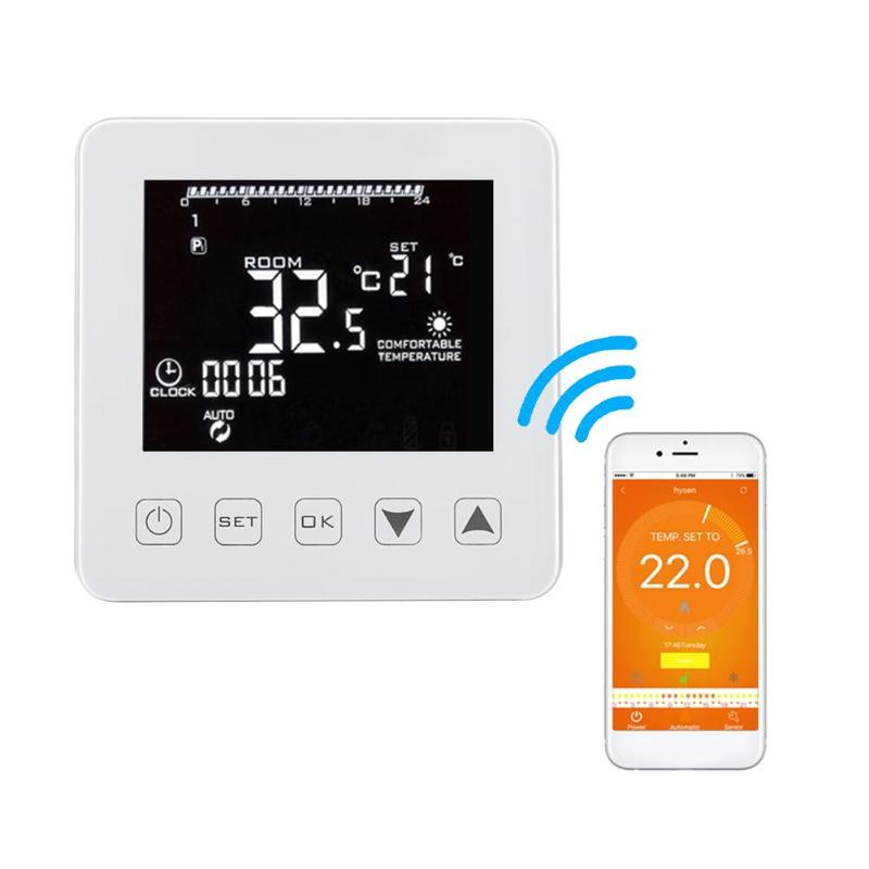 Universal WiFi Thermostat for Gas Boiler Temperature Controller Alexa Google Home Control Thermoregulator for Warm Room programmable wifi thermostat water gas boiler heating thermostat room temperature controller works with alexa google home