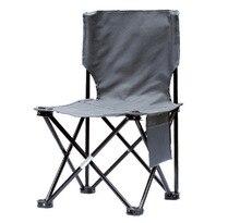 الإبداعية بسيطة في الهواء الطلق كرسي متحرك قابل للطي في الهواء الطلق التخييم كرسي الشاطئ شخصية الموضة الصيد رسم كرسي