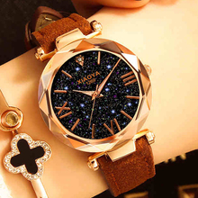 Luxury Starry Sky Watch Women Leather Ladies Quartz Wrist Fashion Casual Clock Female Drop Shipping Relogio Feminino
