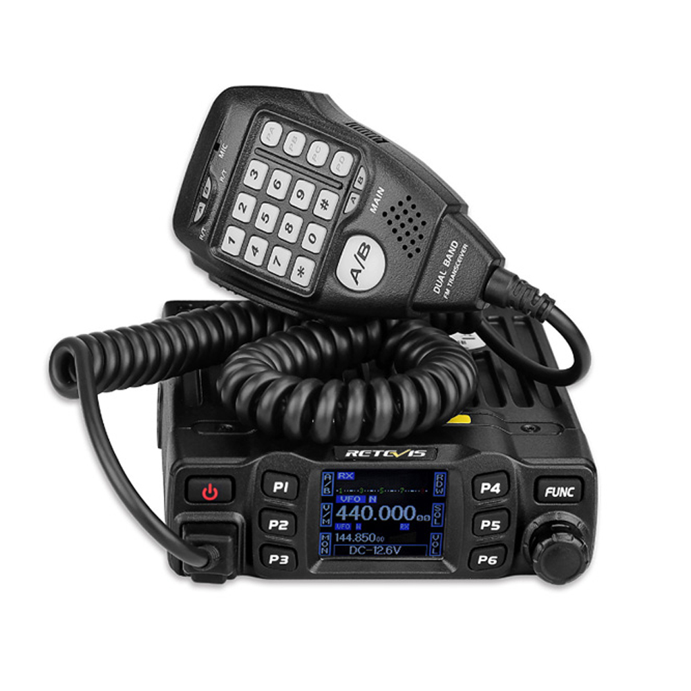 Retevis RT95 200 Channels Car Radio Walkie Talkie Portable Car Mobile Vehicle Radio Transceiver with Mic