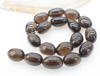 loose beads Smoky Quartz/white crystal baroque 20 25mm 15 for DIY jewelry making FPPJ wholesale nature gemstone coral