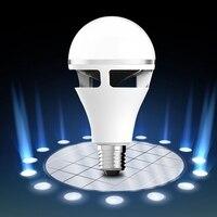 CLAITE Smart Bulb E27 5W RGBWW Colorful LED bluetooth Speaker Smart Globe Light Bulb APP Control Light Bulb AC85 265V