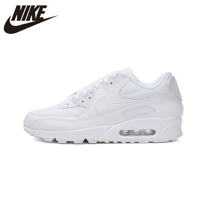 Nike Air Max 90 esencial Original recién llegado hombres zapatillas de correr transpirables deporte al aire libre zapatillas #537384-111