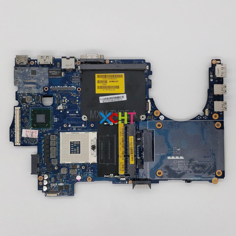 RM0C3 0RM0C3 CN 0RM0C3 LA 7931P For Dell Precision M4700 Laptop Notebook PC Motherboard Mainboard