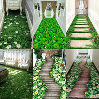 100x200cm 3D Printing Area Rug Carpet Hallway Floor Mat Anti slip Doormat Bedroom Living Room Balcony Tea Table Rugs